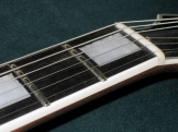 Tokai LC-85 nut and fretboard