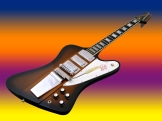 Gibson Firebird VII – beauty shot 1 – multicoloured