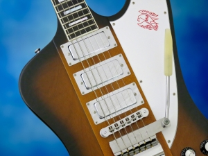 Gibson Firebird VII – pickups and Maestro