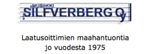 Musiikki Silfverberg LOGO