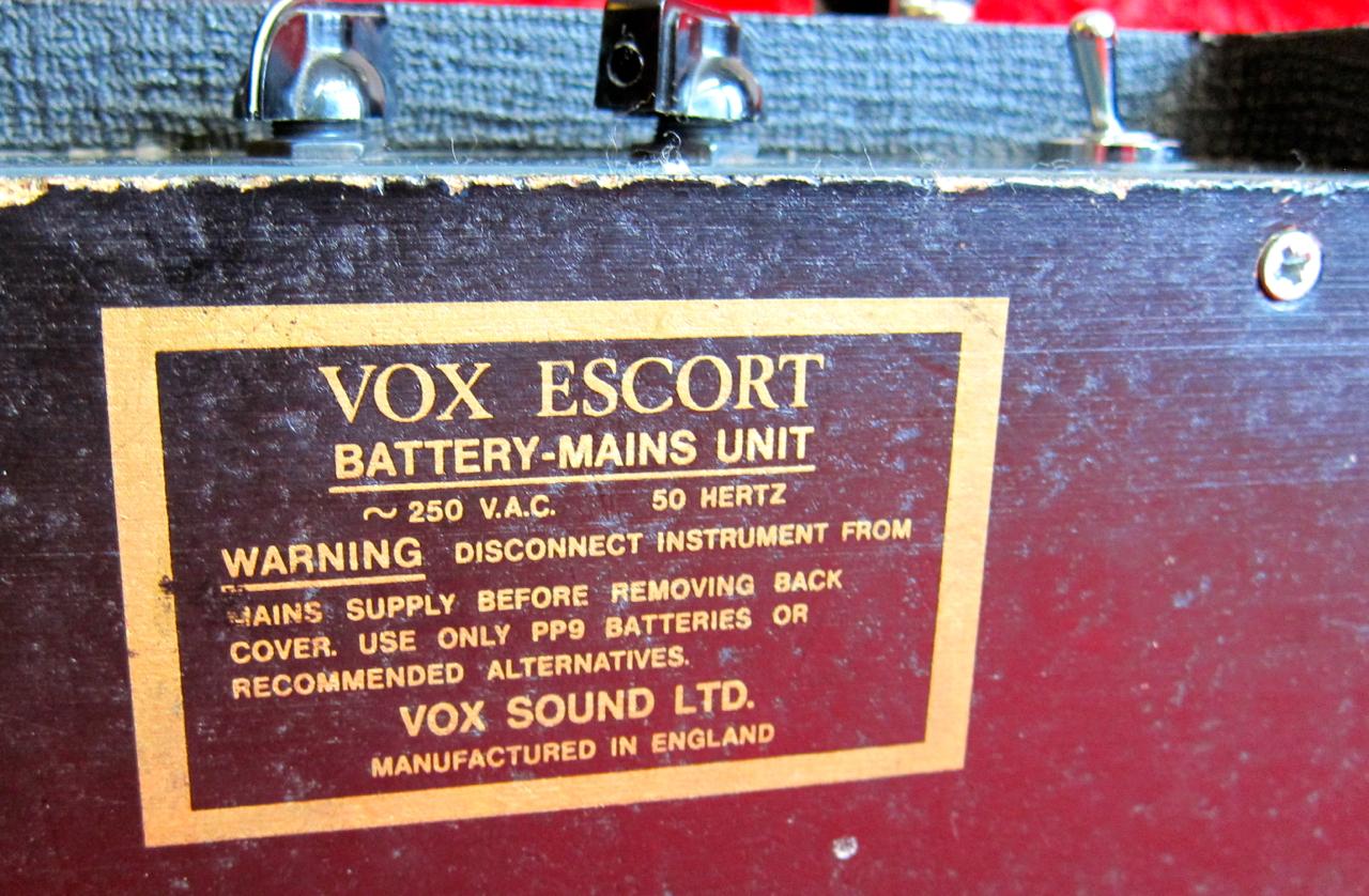 Vox escort bass 50