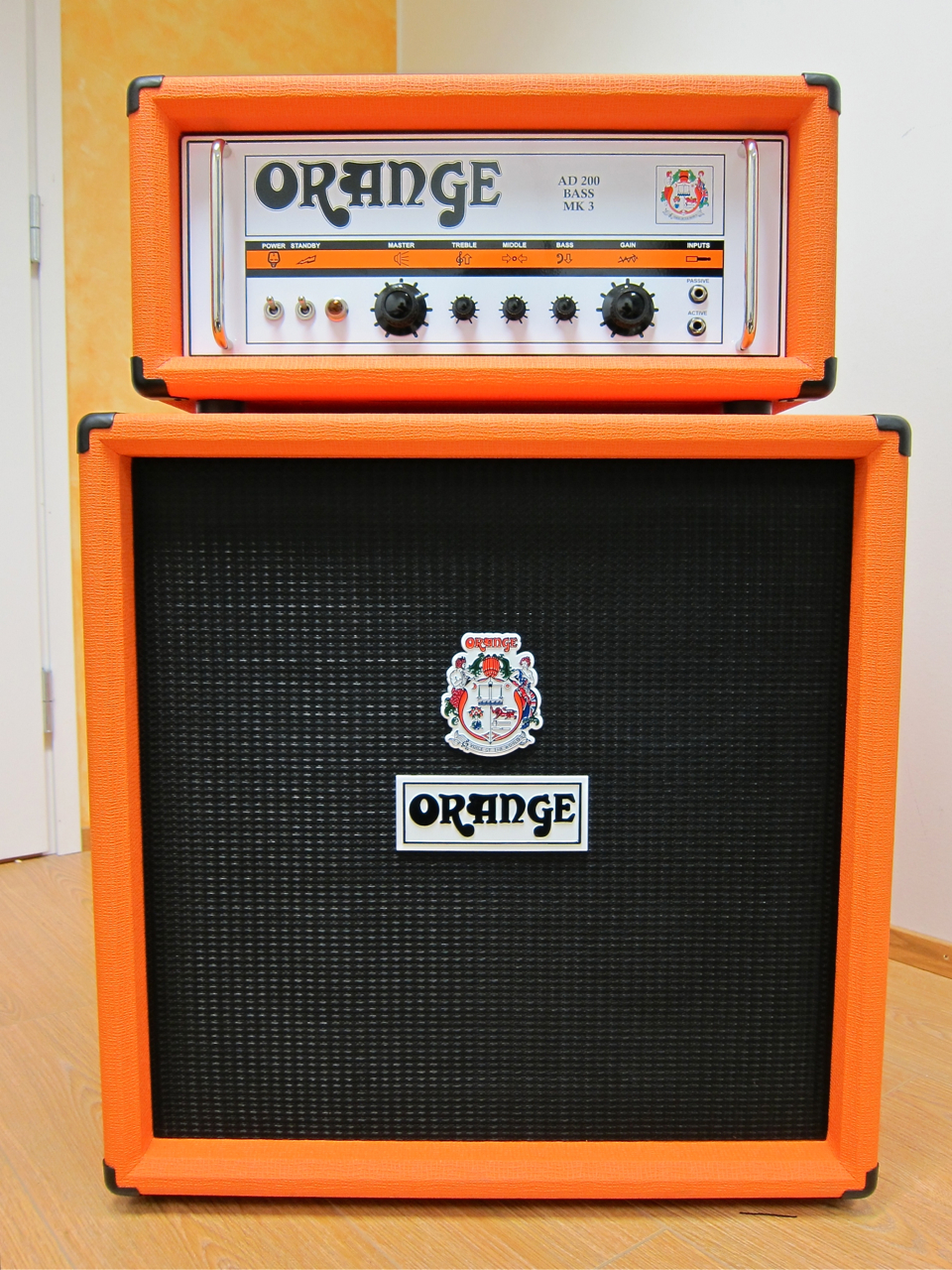 review  orange ad200 bass mk3   obc410