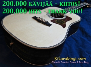 Kitarablogi at 200 k