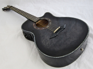 Schecter Hellraiser Studio Acoustic – beauty shot