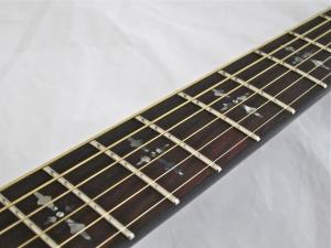 Schecter Hellraiser Studio Acoustic – fretboard