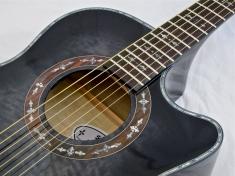 Schecter Hellraiser Studio Acoustic – soundhole rosette 2