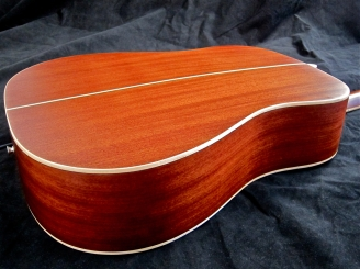 Tanglewood TW28-CLN + Woody – body side view
