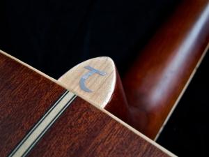 Tanglewood TW28-CLN + Woody – heel cap