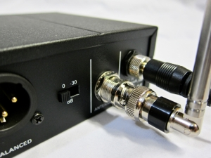 AKG SR470 – connectors