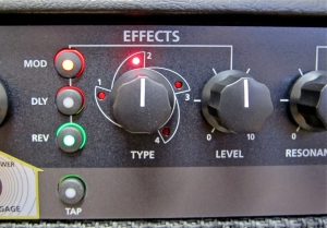 Blackstar ID60 TVP – effect section