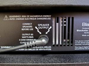 Blackstar ID60 TVP – speaker output