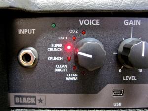 Blackstar ID60 TVP – voice knob