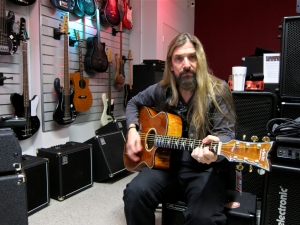 James LoMenzo & guitar