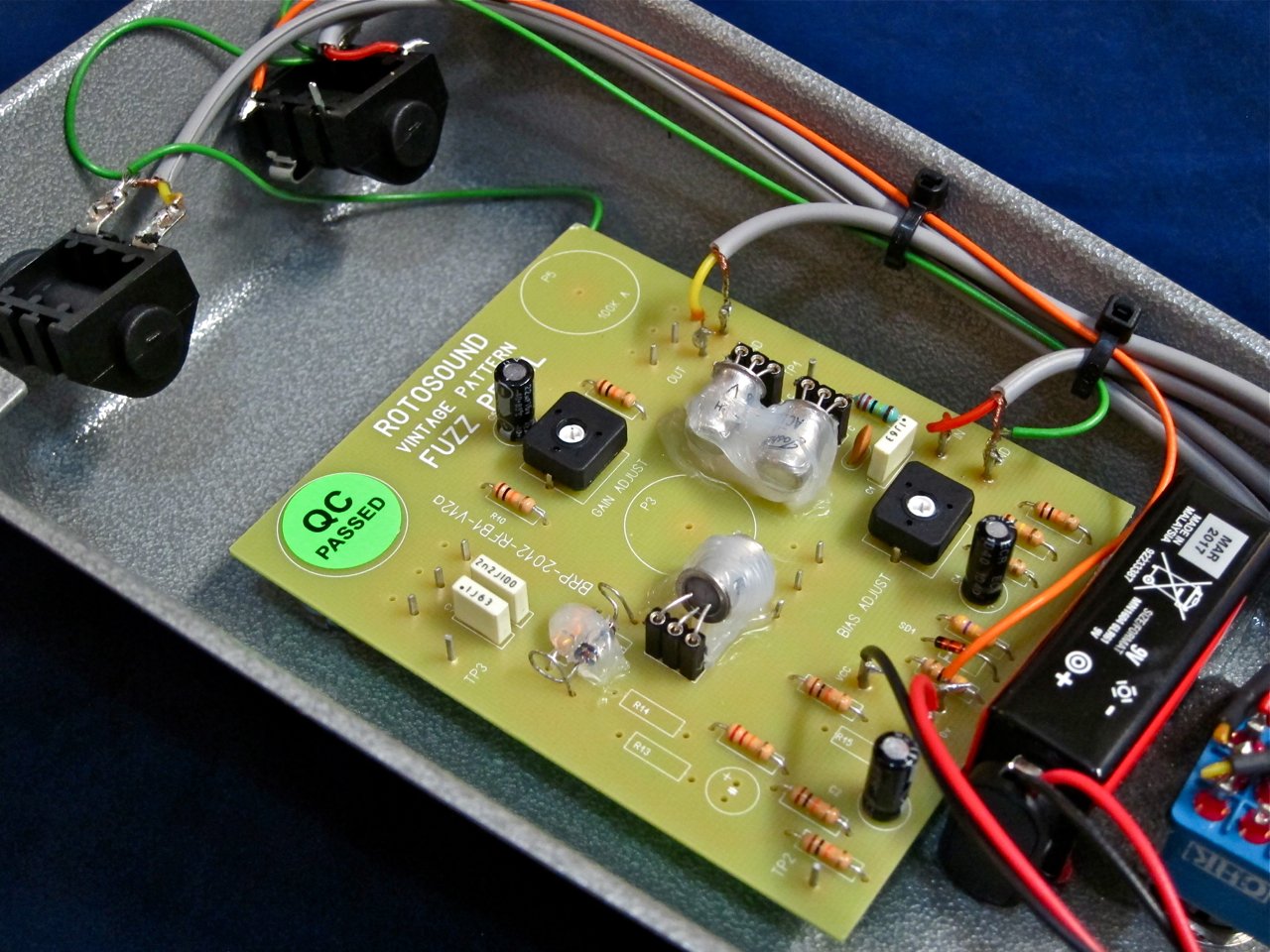 Shortscale View Topic Rotosound Fuzz Too Quiet Pedal Schematic Note
