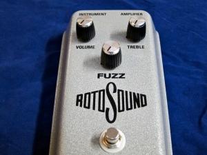 Rotosound Fuzz – controls