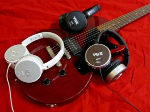 Vox Amphones – and guitar
