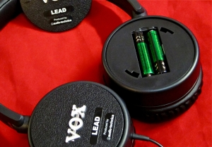 Vox Amphones – battery compartment