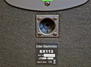 Eden EX112 – speaker input