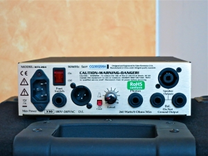 Eden WTX-264 – back panel
