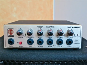 Eden WTX-264 – front panel