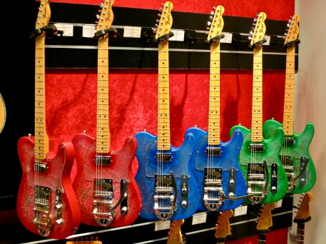 Fender Custom Shop Paisley Teles