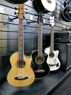 Ortega acoustic basses