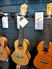 Tanglewood Cove Creek ukuleles