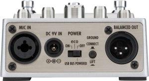 Zoom A3 – mic input