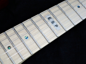 LTD Elite ST-1 – frets + inlays