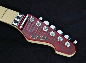 LTD Elite ST-1 – headstock