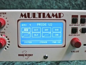 DV Mark Multiamp – patch view