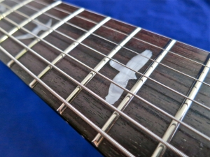 PRS SE Custom 24-7 – frets + inlays