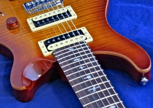 PRS SE Custom 24-7 – neck joint