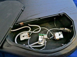 Warwick Corvette Standard Ash – electronics