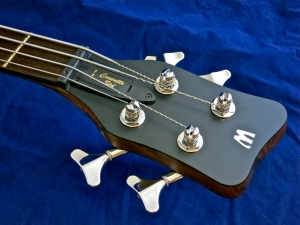 Warwick Corvette Standard Ash – headstock + nut