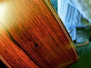 AJL Guitars – close-up binding