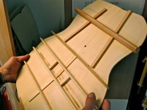 AJL Guitars – ladder bracing