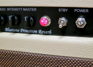 Bluetone Princeton Reverb – pilot light