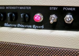 Bluetone Princeton Reverb – pilot light