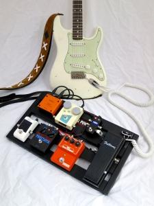 Custom Sounds Fillmore '70 – board angle + Nash Guitar