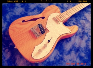 Tokai ATE-33N Thinline – groovy natural 2