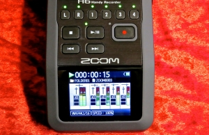 Zoom H6 – display