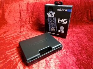 Zoom H6 – package and case