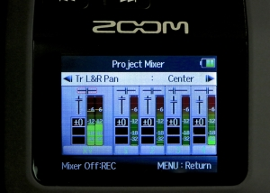 Zoom H6 – project mixer