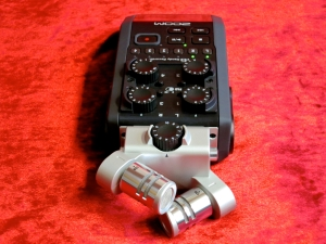 Zoom H6 – top view