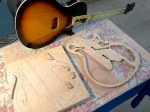 Amfisound Guitars – jigs + fixture semi-solid Halti