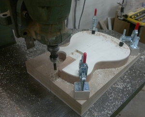 neck cavity routing