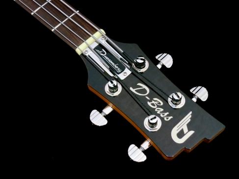 Duesenberg D-Bass – headstock