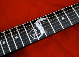 LTD Hetfield Snakebyte – fretboard