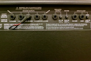 Blackstar HT Metal 60 – back panel 1